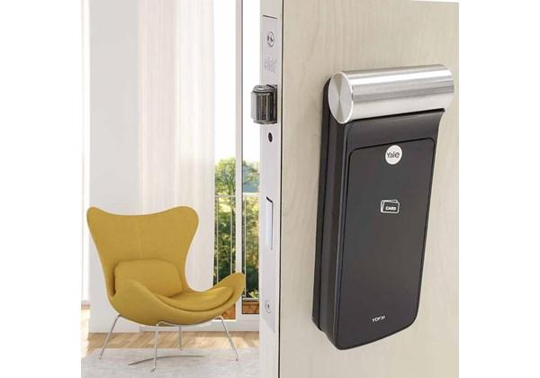 Fechadura Digital YDF 30 RL com Senha e Cartão - Trinco Rolete